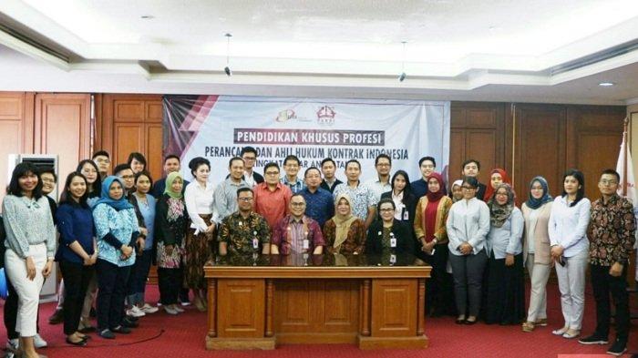 PAHKI dan Justitia Training Center Gelar Pendidikan Khusus Perancang Ahli Hukum Kontrak Indonesia