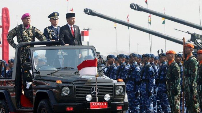 PIDATO Lengkap Jokowi di Upacara HUT ke-74 TNI: Teruslah Jadi Tentara Profesional Kebanggaan Rakyat!