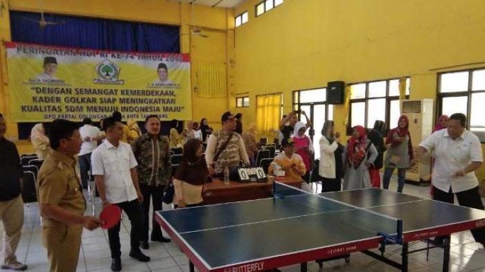 DPD Partai Golkar Kota Tangerang Gelar Lomba Olahraga untuk Rayakan HUT ke-74 RI