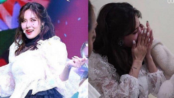 HyunA Menangis Usai Manggung Setelah Lama Menghilang