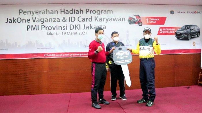 Bank DKI Beri Hadiah Program JakOne Vaganza Kepada PMI Provinsi DKI Jakarta