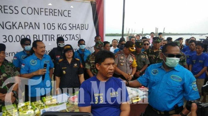 Pernah Bawa 55 Kilogram Sabu dari Malaysia, Anggota DPRD Langkat Ibrahim Hong Kong Raib Saat Dikejar