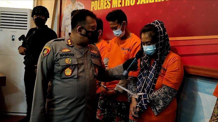 Gandeng Seorang Pria Brondong, Emak-emak di Kampung Bahari Tanjung Priok Jadi Bandar Sabu
