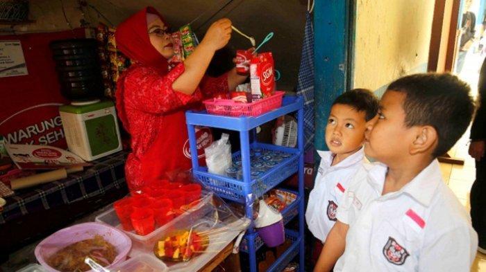 Wabah Covid-19 Bikin Pengelola Kantin Sekolah Terpuruk, Danone SN Indonesia Bantu Rp 1 Miliar Lebih