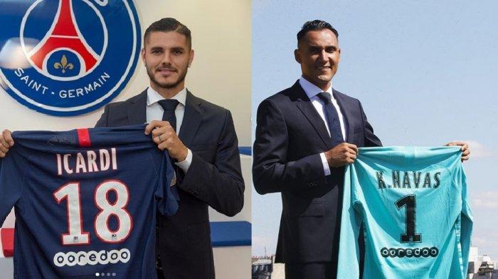 Icardi Akhirnya Berseragam PSG, Raksasa Prancis itu Juga Sukses Datangkan Kiper Madrid Keylor Navas