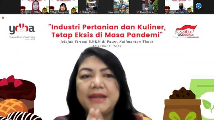 Diskusi Virtual Berbagi Kiat UMKM Binaan YDBA Bertahan Di Tengah Pandemi Covid-19
