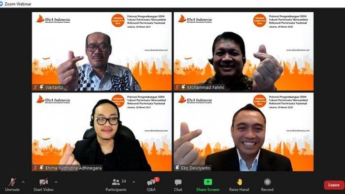 IDeA Indonesia Komitmen Kembangkan Pendidikan Vokasi Berbasis Industri Pariwisata dan Perhotelan