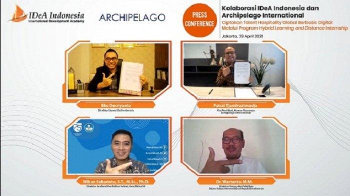 Gandeng Archipelago International, IDeA Indonesia Ingin Ciptakan SDM Perhotelan Berbasis Digital