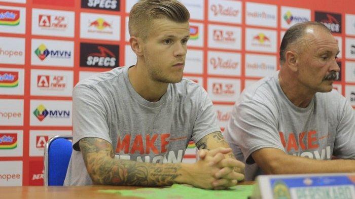 Petteri Pennanen Mulai Adaptasi dengan Kompetisi Sepakbola Indonesia