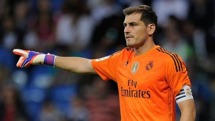 Iker Casillas sempat lama bermain dan menjadi kapten tim di klub Real Madrid