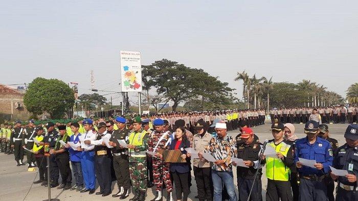 Elemen Masyarakat Kabupaten Bekasi Deklarasi Komitmen Jaga Kondusivitas Jelang Pelantikan Presiden
