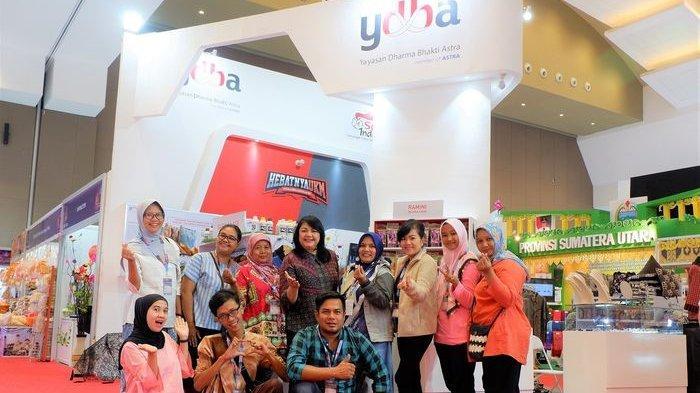 40 UMKM YDBA Lakukan Promosi di Jakarta Fair Kemayoran 2019