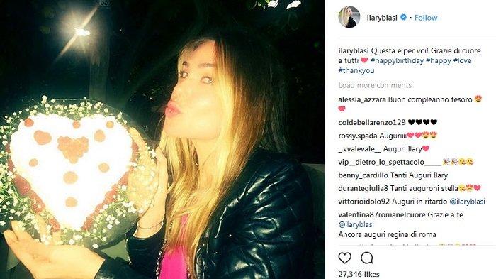 Liburan Romantis dan Pesta Kejutan Francesco Totti untuk Ilary Blasi