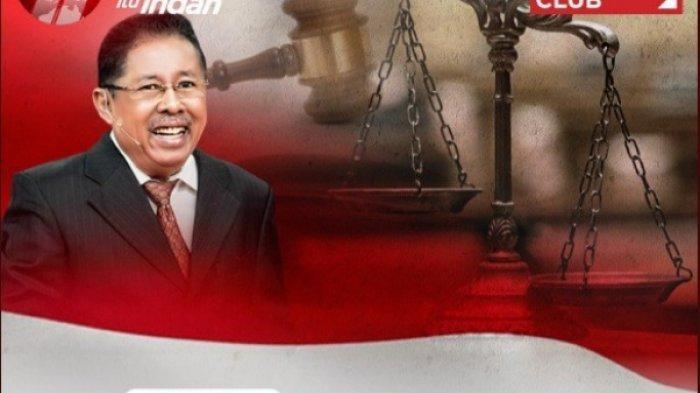 Karni Ilyas Akhirnya Jelaskan Kenapa Acara ILC Tv One Bahas Hukum Tajam Sebelah Terlambat Tayang