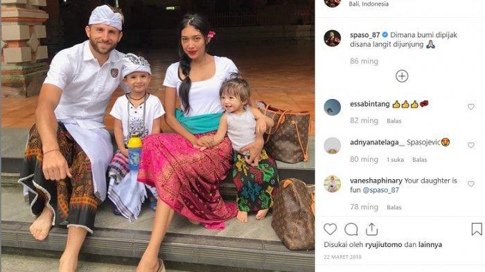 Bali United vs Persib Bandung, Spaso Menangis dan Persembahkan Golnya Untuk Mendiang Istri Tercinta