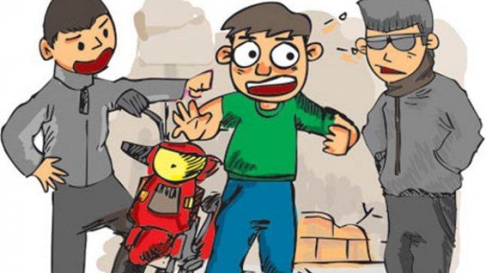 Viral Video Debt Collector Terjun ke Kali Ciliwung Gunung Sahari, Takut Diamuk Massa