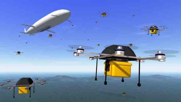 Pemerintah Bakal Kirim Obat ke Daerah Terpencil Pakai Drone