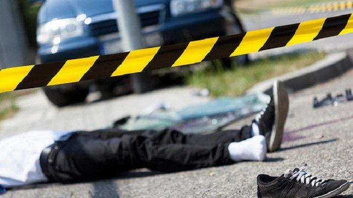 Salip Minibus, Pengendara Motor di Ciputat Dihantam Truk dari Arah Berlawanan, Tewas Seketika