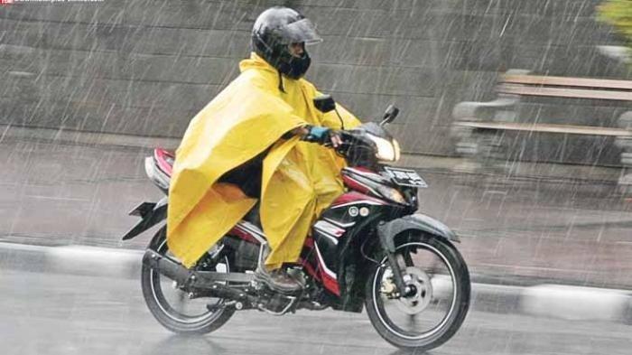 Cuaca Senin 16 Maret 2020 Hujan Lokal di Jaksel dan Jaktim Siang, Waspadai Hujan Petir di Sore-Malam