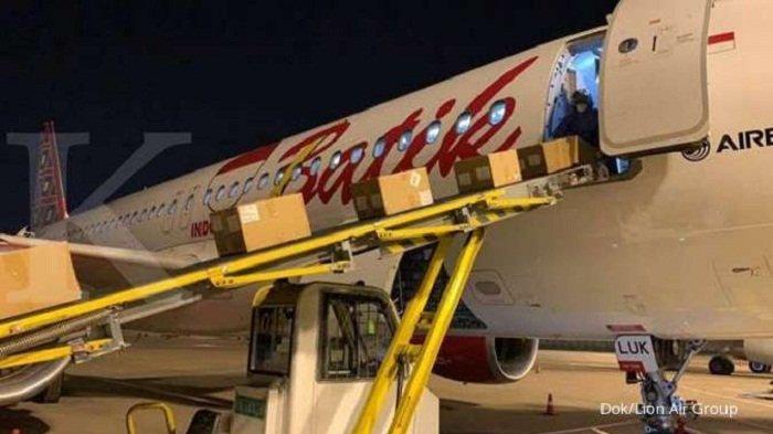 Pesawat Airbus 320-200 Batik Air Angkut 8.569 Kg Obat-obatan dari Hangzhou di Tengah Wabah Covid-19