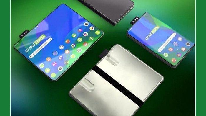 Ponsel Lipat Oppo Berkamera Pop-up Dipatenkan, Ini Bedanya dengan Galaxy Fold dan Mate X