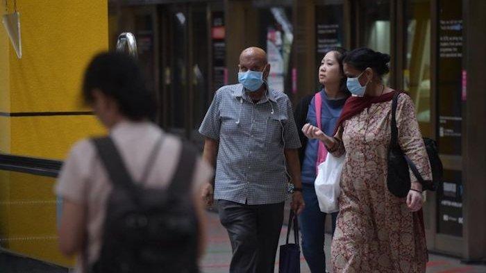 WNI Diminta Tenang, Status Darurat Virus Corona Sempat Bikin Warga Singapura Panik Serbu Supermarket