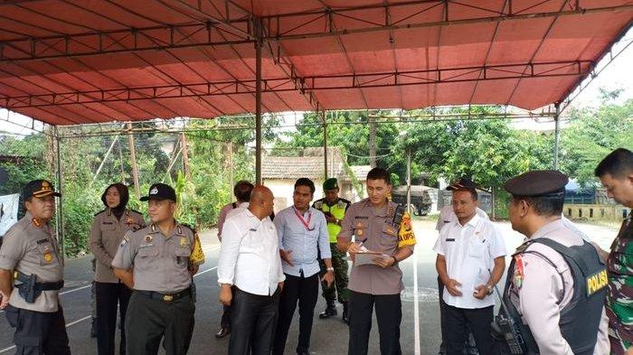 Jelang Pencoblosan, Kapolrestro Bekasi Kota Tinjau Persiapan 6 TPS Rawan