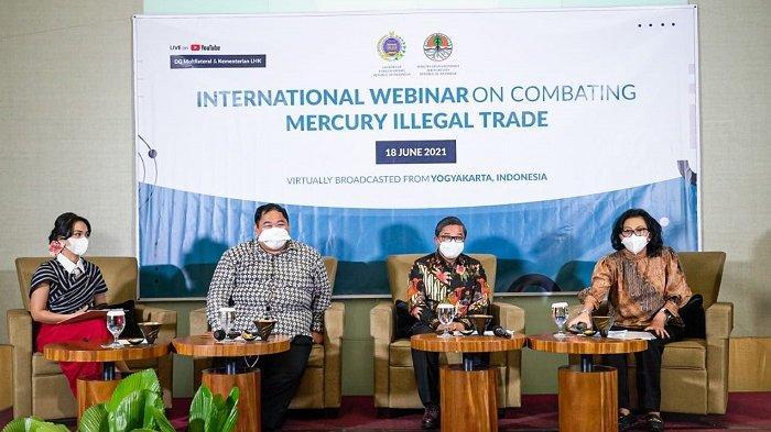 Menuju COP-4 Konvensi Minamata, Indonesia Gelar Webinar Hybrid Memerangi Perdagangan Ilegal Merkuri