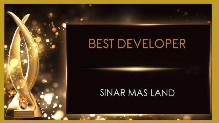 Sinar Mas Land Terpilih sebagai Best Developer of The Year di Ajang Indonesia Property Awards 2020