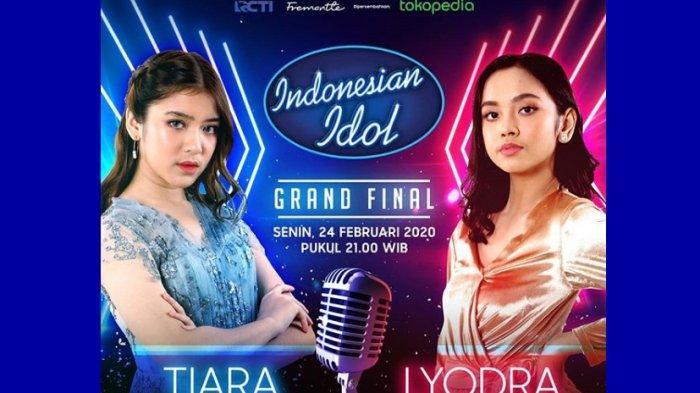 Grand Final Indonesian Idol, Tiara dan Lyodra Sama-sama Dapat Pujian, Sulit Menentukan Pemenang