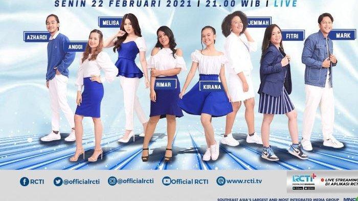 Ada 8 finalis tersisa Indonesian Idol Special Season yang akan beraksi di panggung Spektakuler Show, Senin (22/2/2021) malam.