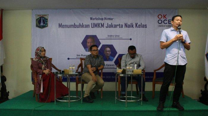 Bantu Pemprov DKI Jakarta, Indra Uno Targetkan OK OCE Lahirkan 200.000 Wirausaha Baru Tahun 2022