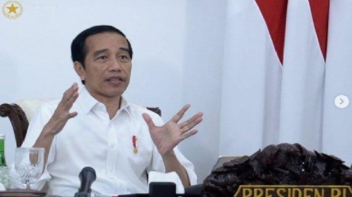 TEGUR Keras, Presiden Jokowi Peringatkan Para Menteri Masih Kerja Biasa-biasasaat Pandemi