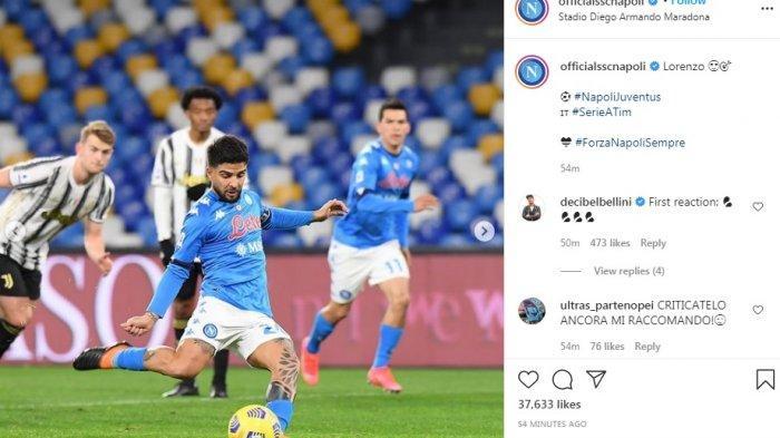 Gawat, Juventus Dikalahkan Napoli 1-0, Peluang Pertahankan Gelar Kian Berat, Peringkat 3 Tak Aman