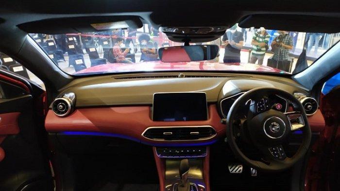 Interior bagian kemudi MG HS i-Smart Magnify