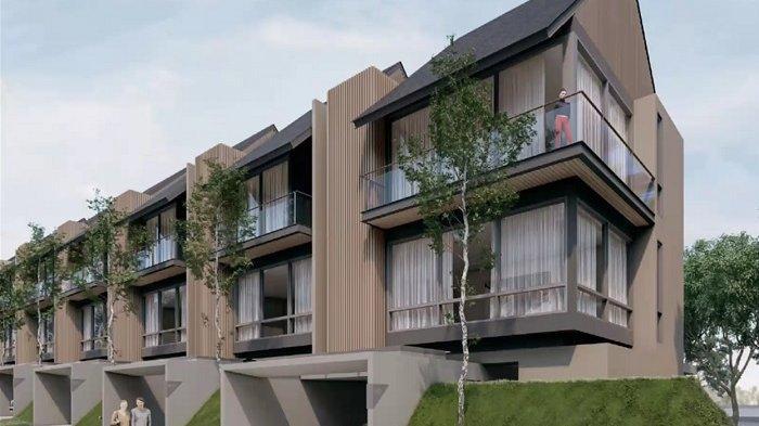 Hunian tipe Brava di klaster Sierra, dengan luas bangunan 235 meter persegi dan luas lahan 117 meter persegi.