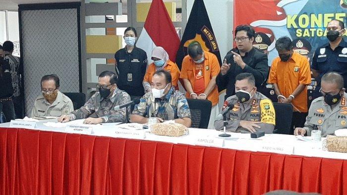 VIDEO Polda Metro Jaya Tangkap Fredy Kusnadi Terkait Penipuan Tanah Milik Keluarga Dino Patti Djalal