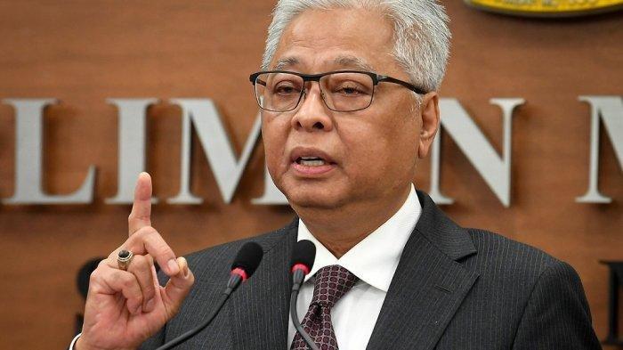 Ismail Sabri Yaakob, wakil presiden UMNO, yang ditunjuk sebagai perdana menteri Malaysia