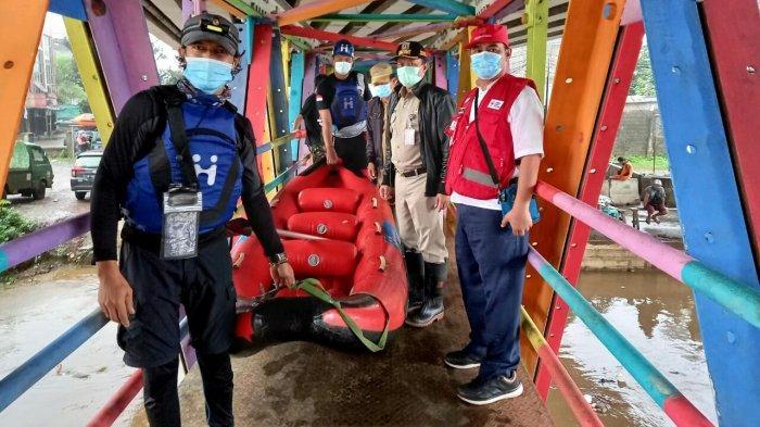 Pemkot Jaksel Kolaborasi PMI, BPBD dan TNI-Polri Tanggap Bencana Banjir