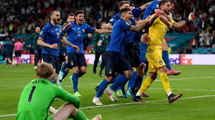Italia Raih Gelar Juara Piala Eropa Kedua Kalinya Setelah Euro 1968, Inggris Gagal Ukir Sejarah