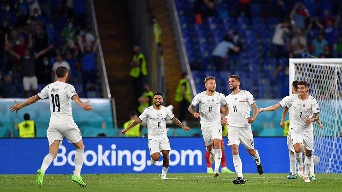 Starting XI dan Live Streaming Italia vs Swiss, Azzurri Turunkan The Winning Team Kecuali Florenzi