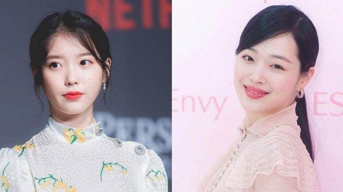 Lagu Peach Milik IU Masuk 100 Tangga Lagu di Korea untuk Mengenang Sulli