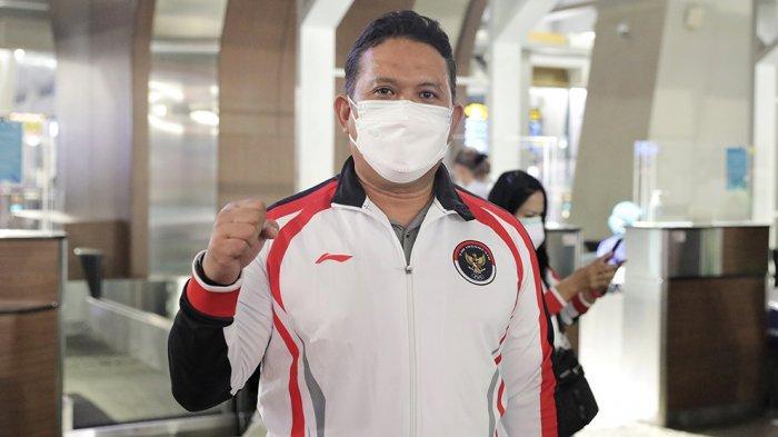 Iwan Hermawan, Kasubid Pengembangan Sports Science yang juga pelatih fisik tim bulutangkis Indonesia.