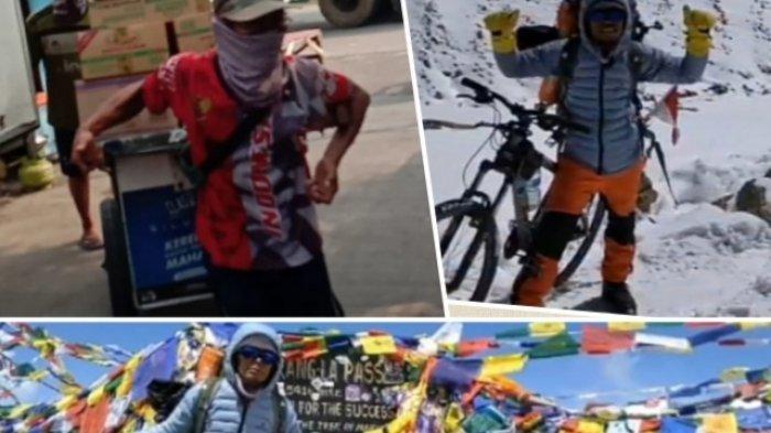BERITA VIDEO: Kisah Iwan Sunter, Kuli Pasar Jakarta yang Bersepeda di Himalaya (1)