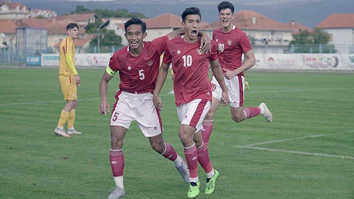 Live Streaming Timnas U-19 Indonesia vs Makedonia Utara di Mola TV dan Net TV Pukul 19.40 WIB