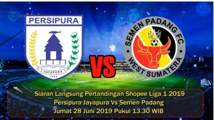 LIVE STREAMING Persipura Jayapura Vs Semen Padang, Kick-off Siang Ini Pukul 13.30 WIB