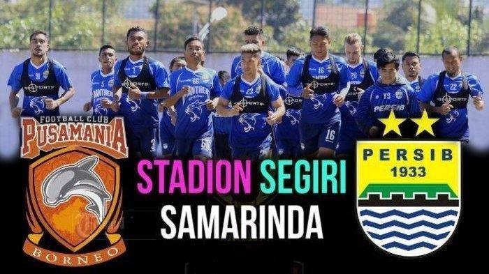 Sedang Berlangsung Live Streaming Borneo FC Vs Persib Bandung, Robert Alberts Turunkan Bek Muda