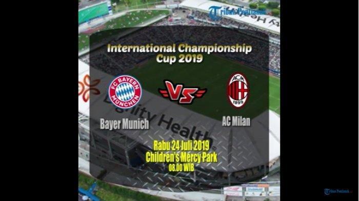Link Live Streaming Mola TV Bayern Munchen Vs AC Milan di ICC 2019, Main Rabu Ini Pukul 08.00 WIB