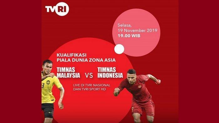 Update Pertandingan Timnas Indonesia vs Timnas Malaysia, Sementara Garuda Tertinggal 0-1