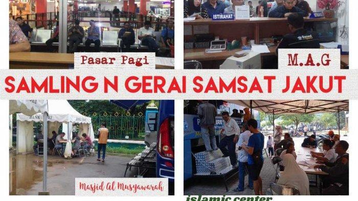 UPDATE Lokasi Samsat Keliling Hari Ini Jumat 9 Oktober 2020, Perpanjang SIM-STNK Juga Bisa di Mal
